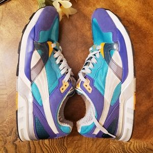 Puma trinomic blue and white sneakers size 11